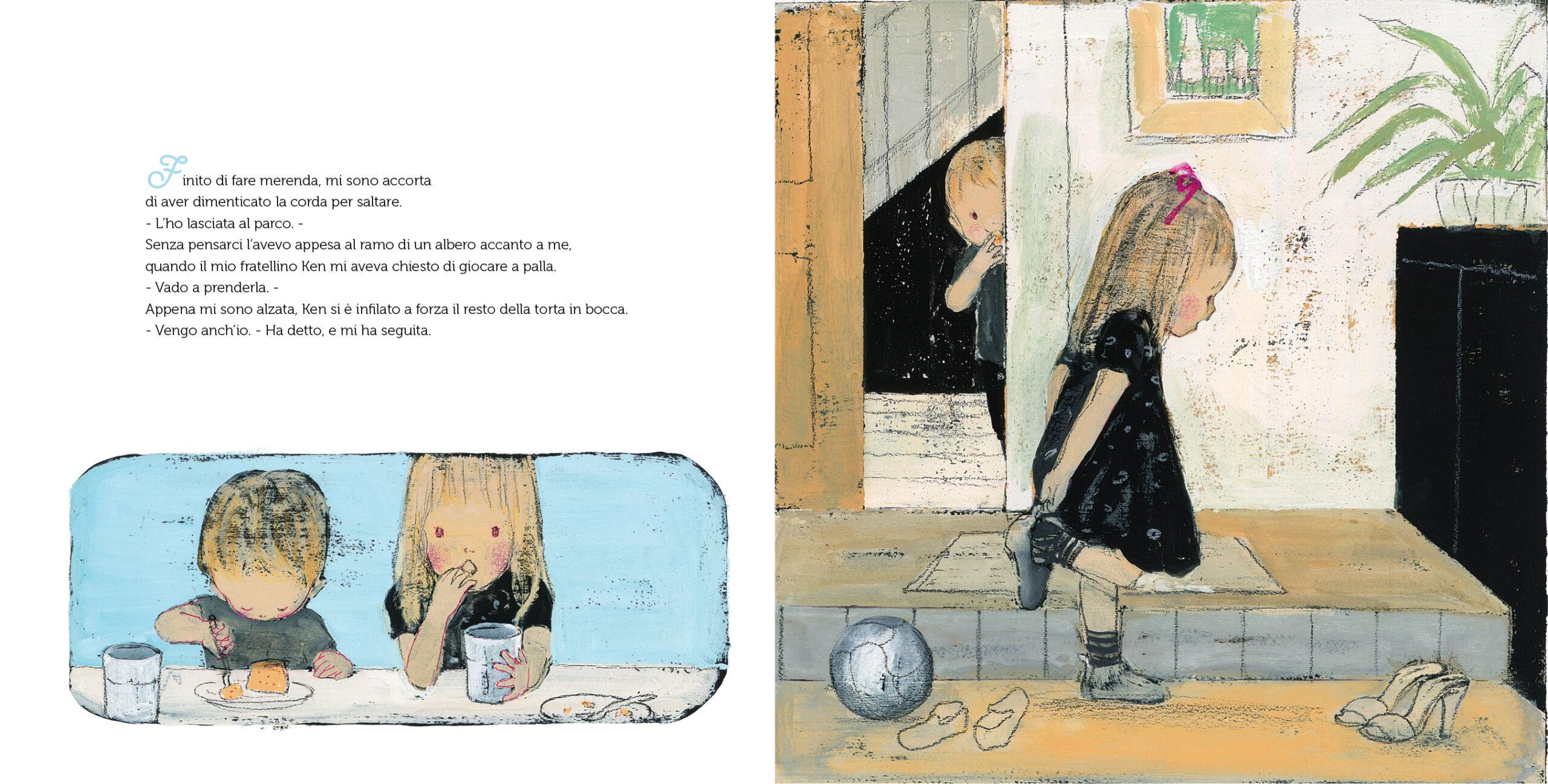 La bambina e la volpe Kira Kira edizioni interni